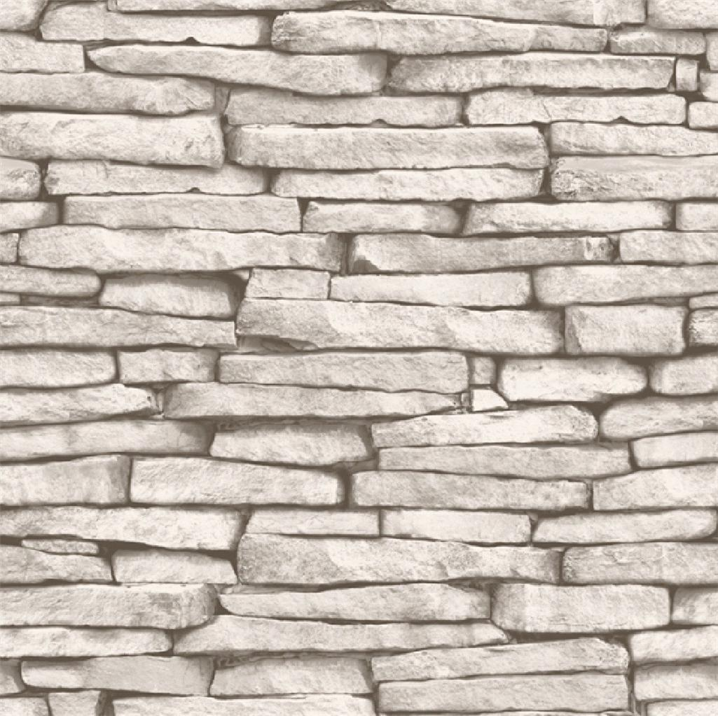Baksteen Behang Wit Black And White Brick Wallpaper 2017 Grasscloth Wallpaper