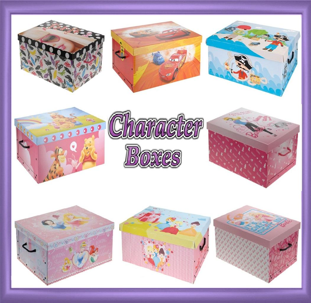 Bedroom Storage Boxes Disney Decorative Cardboard Storage Box Bedroom Underbed