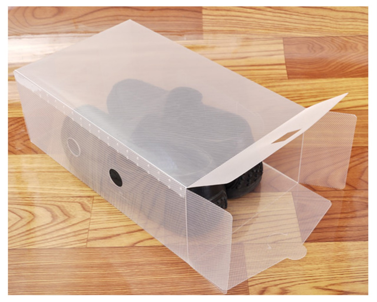 Shoe Box Australia 5 10 11 X Clear Plastic Stackable Shoe Storage Boxes