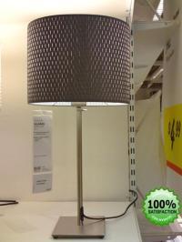 IKEA ALANG Gray or White MODERN TABLE DESK LAMP LIGHT | eBay
