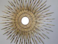 sunburst wall decor - 28 images - silver sunburst wall ...