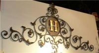 Wrought Iron Initials Wall Decor Endearing Dr Livingstone ...