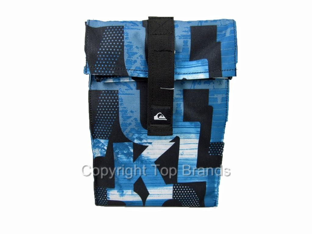 Quiksilver Foldover Insulated Lunch Tote Lunch Box Bag