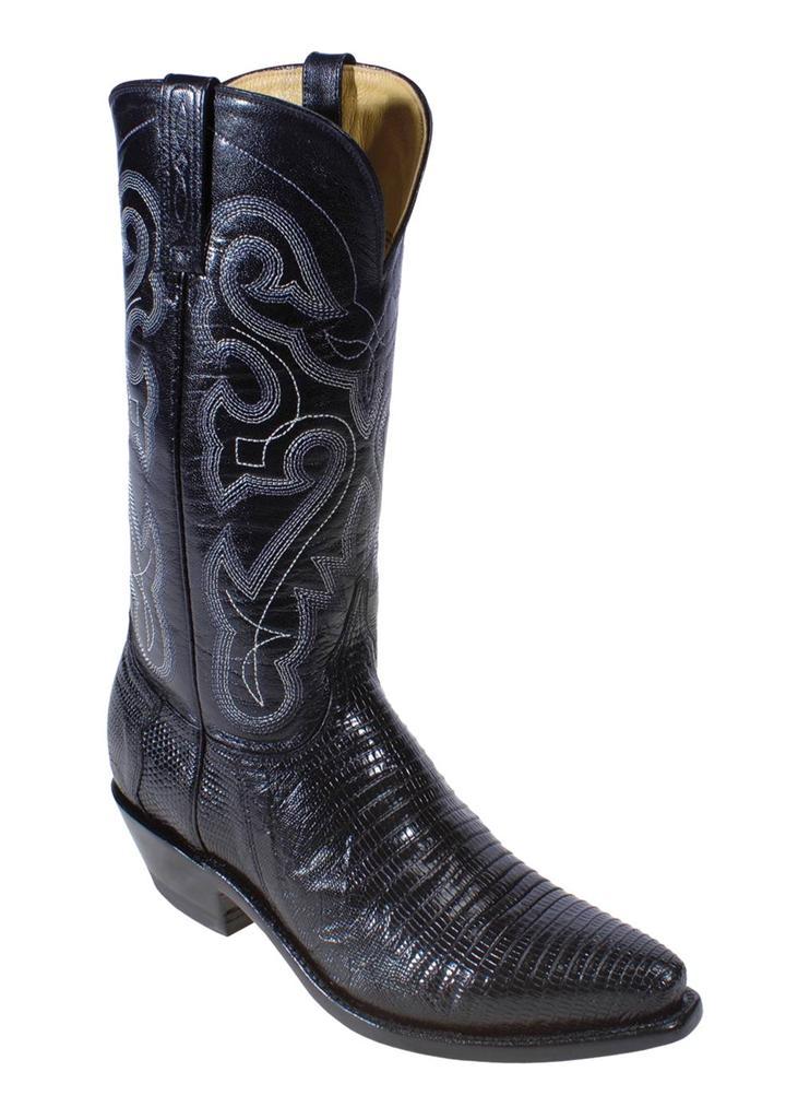 Ferrini Western Boots Womens Cowboy Teju Lizard Exotic