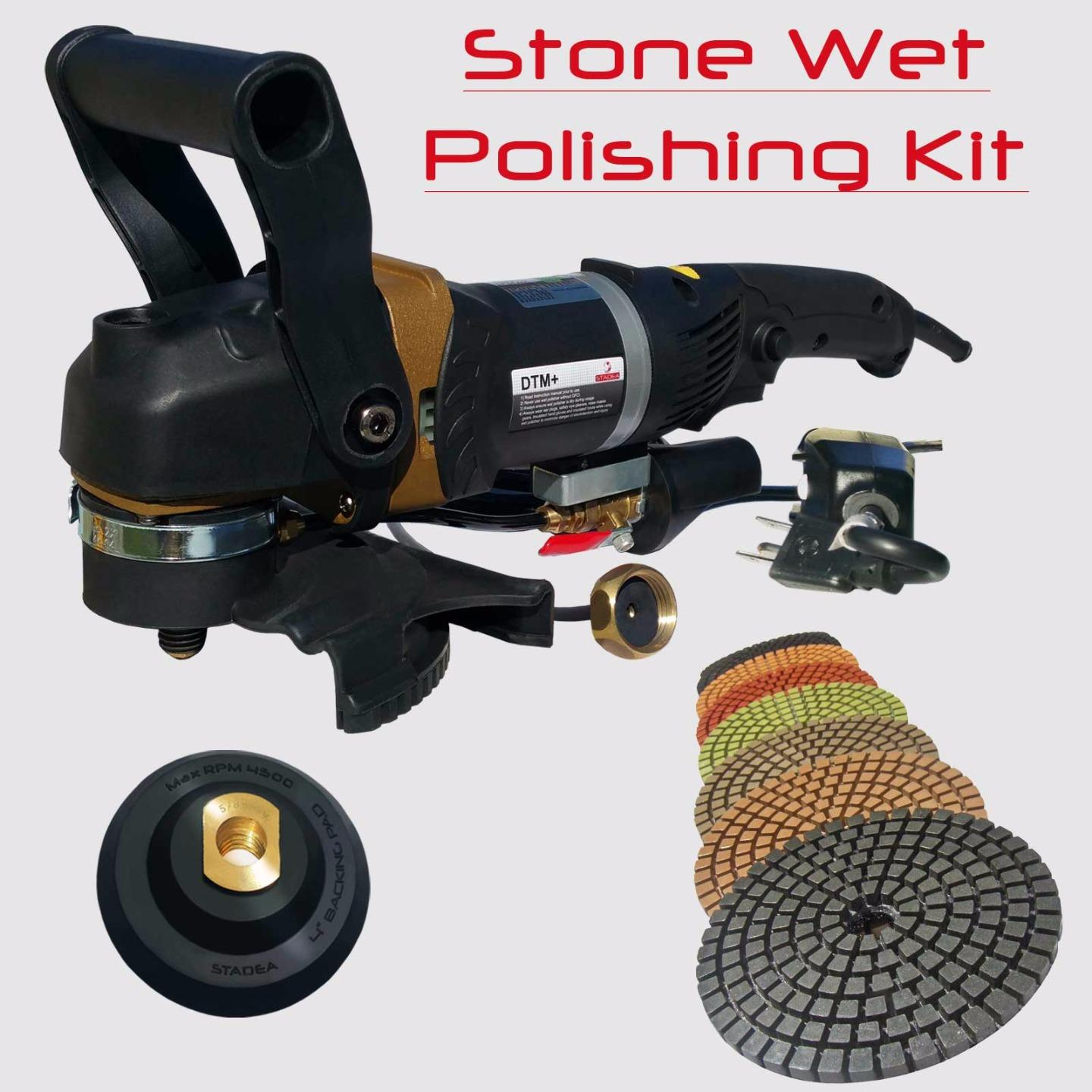 Concrete Countertop Polisher Stadea Concrete Countertop Grinder Polisher Wet Kit For