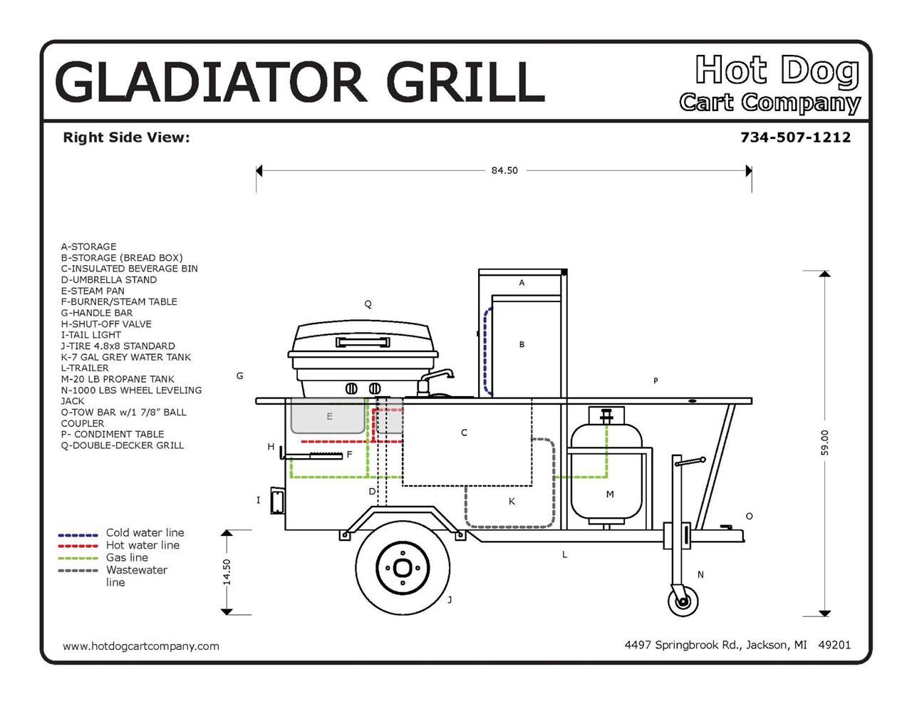 1000 gallon propane tank schematic