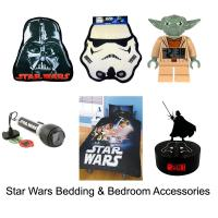 STAR WARS BEDDING & BEDROOM ACCESSORIES - NEW - OFFICIAL ...