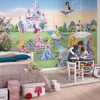 DISNEY & CHARACTER LARGE WALL MURAL BEDROOM DECOR ...