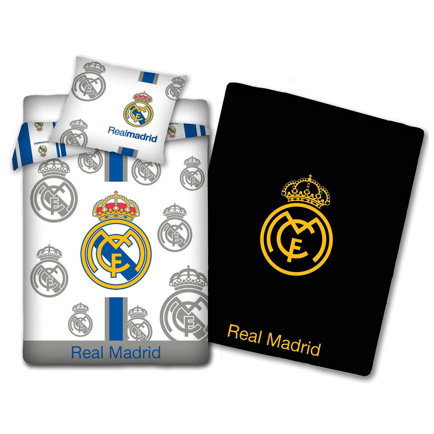 Bettdecken Real Real Madrid Cf Bettwäsche Bettdecken Set Nachleuchtend