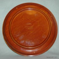 """STOVIT HAND PAINTED CERAMIC OVEN PLATE FOR 10"""" PIZZA ..."""
