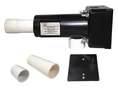 Brett Aqualine HT-1 EM-103 Spa Heater Assembly 55kW 240V no T-Stat