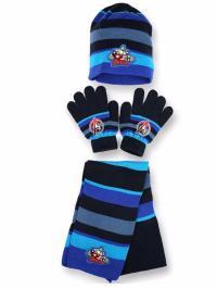 Boys Kids Marvel Avengers Winter Hat Gloves and Scarf Set ...