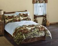 Western Horse Bedding Set- Comforter Bedskirt & Pillow ...