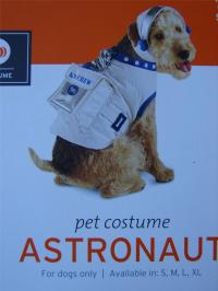 Astronaut Dog Costume