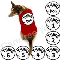 Dr. Seuss Thing 1 2 3 4 5 6 TShirt for DOGS CATS PETS!! | eBay
