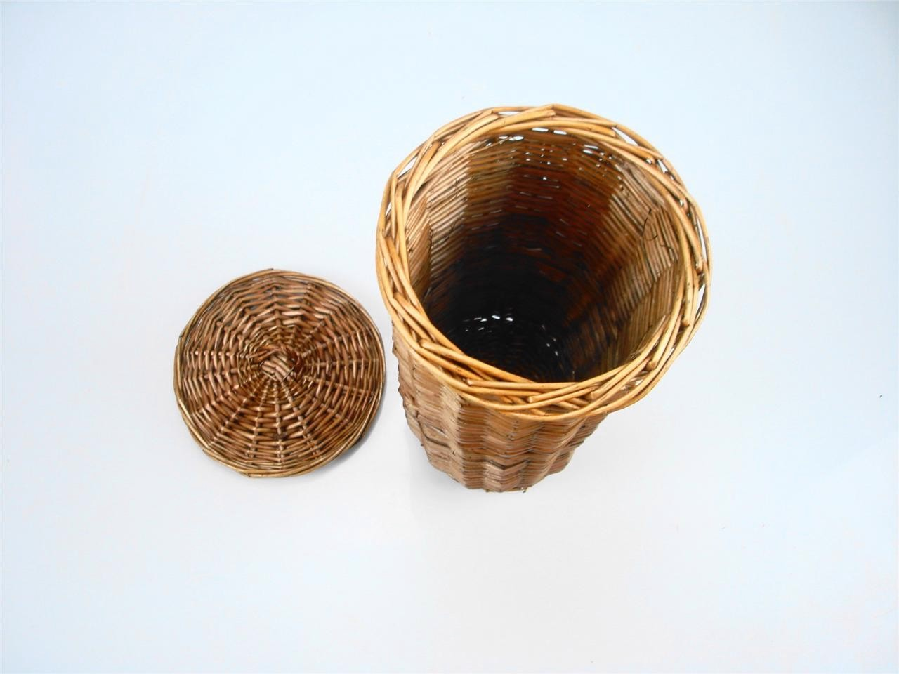 Dark Brown Wicker Laundry Basket White Black Brown Wicker Round Oval Rectangle Laundry