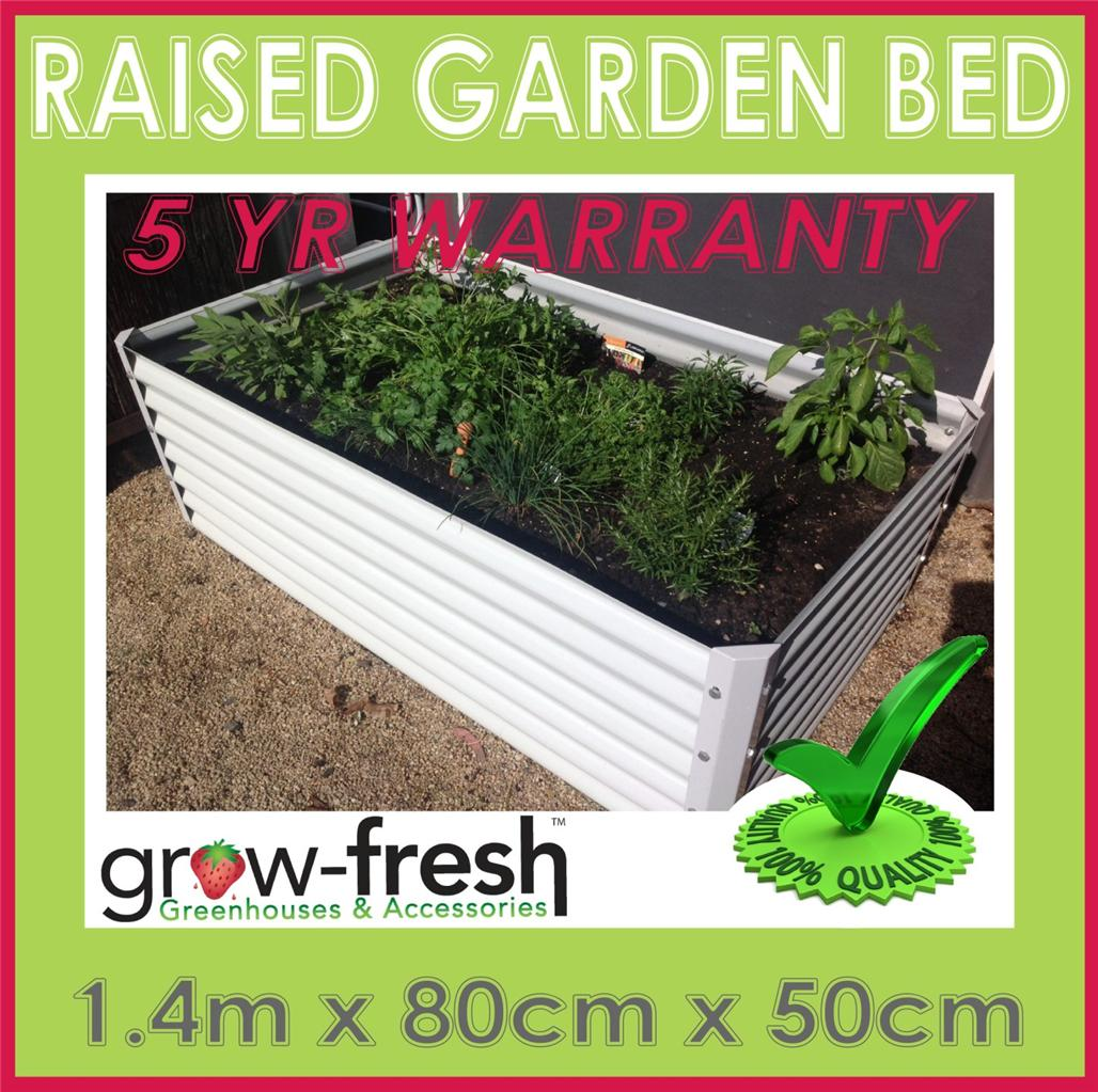 Colorbond Raised Garden Beds Stratco Greenhouse Colorbond Diy Raised Planter Box Garden Bed Rrp