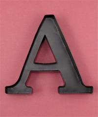 Unique Metal Monogram Letter Shaped Initial Wine Cork ...