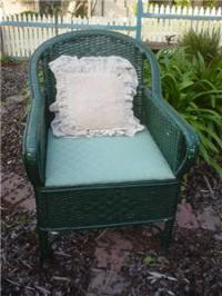 Vintage Antique CANE / WICKER COMMODE TOILET CHAIR ...