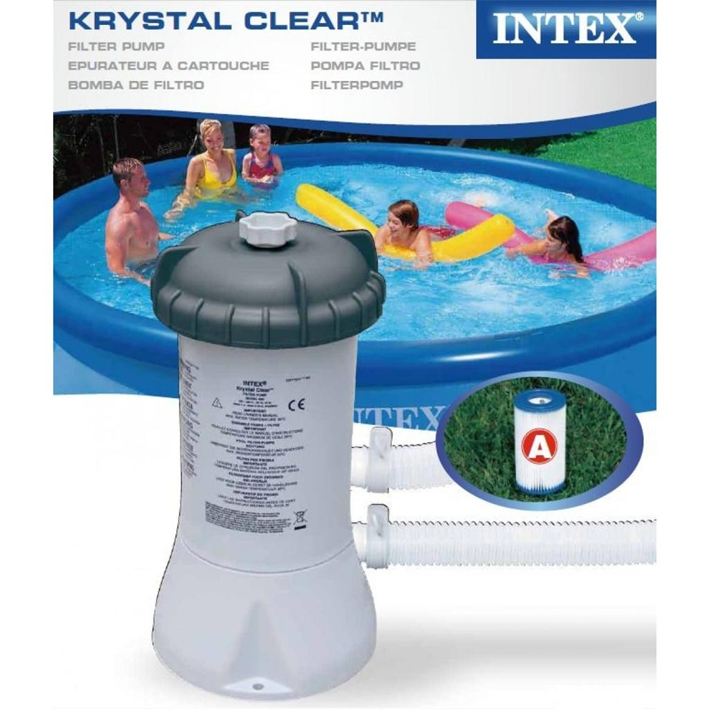 Intex Pool Sandfilterpumpe Volt 220-240 121 Krystal Clear Intex Krystal Clear Sandfilterpump 28646gs