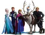 Sven Olaf Frozen Anna Elsa Kristoff Hans