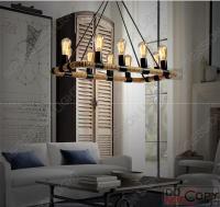 Vintage LED Rope lights Chandelier ceiling light bedroom ...