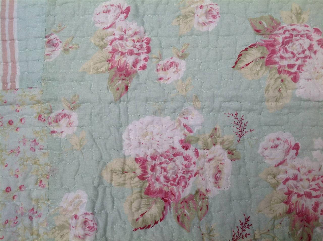 Tagesdecke 240 X 260 Quilt Patchwork Tagesdecke Shabby Chic 240 X 260 Rosen