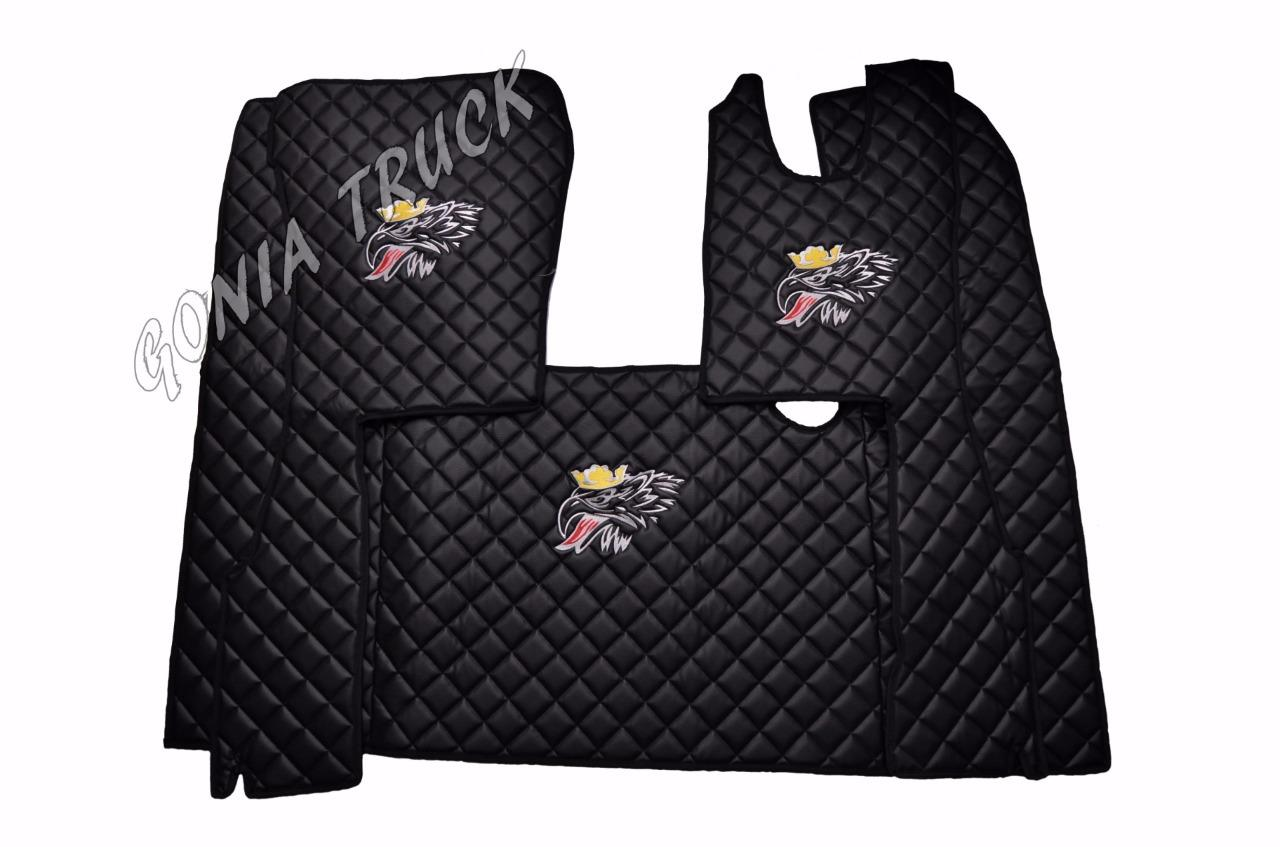 Tapis Scania Eco Leather Engine Cover And Floor Mats For Scania 4