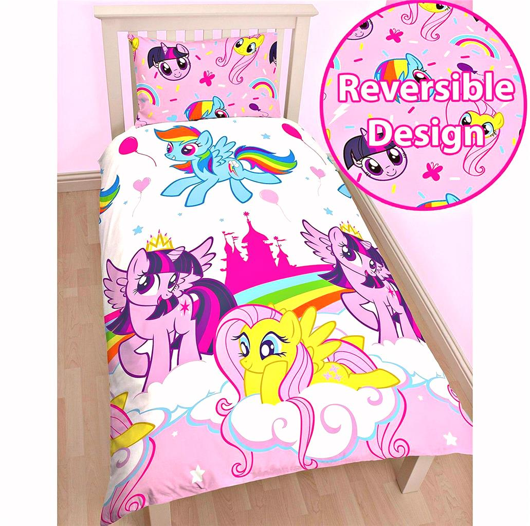Single Doona Cover Single Officially Licensed My Little Pony Reversible Quilt