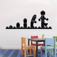 Lego Evolution Decal Wall Sticker Home Decor Art Vinyl ...