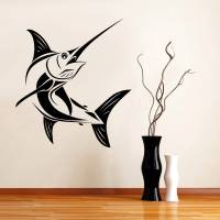 Marlin Fish Decal Wall Art Sticker Home All Colors Sizes ...