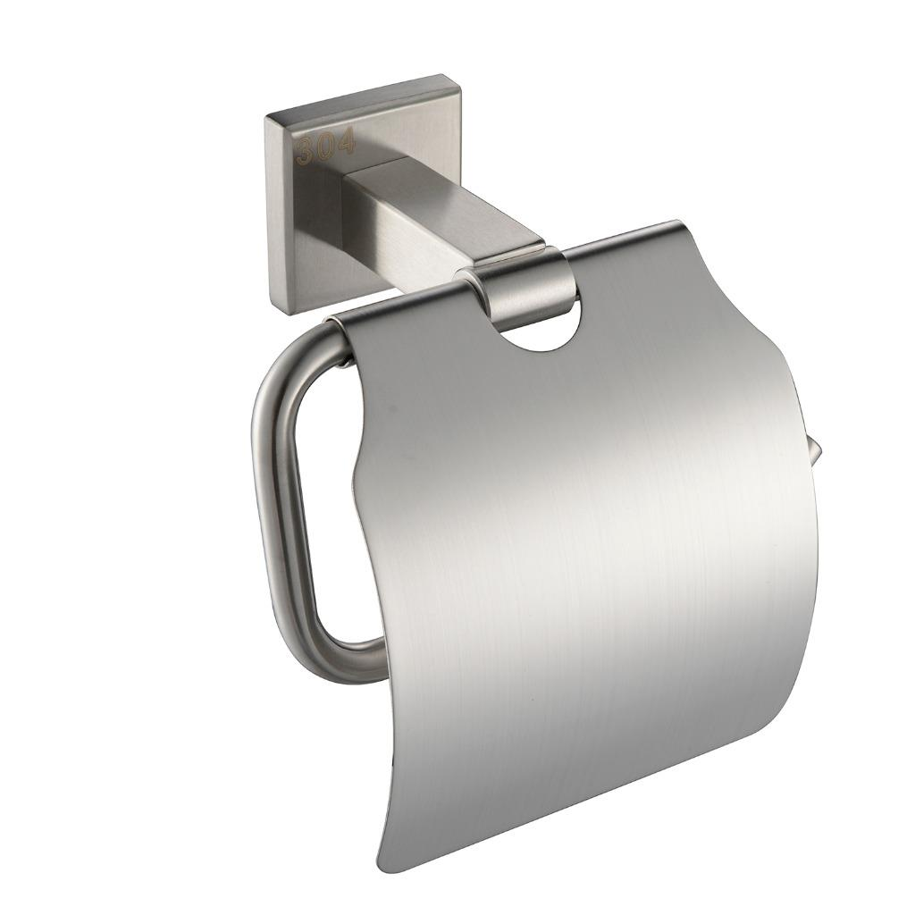 Stainless Steel Toilet Paper Stand Sus 304 Stainless Steel Toilet Paper Holder Square Single
