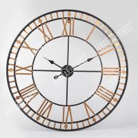 NEW! Large Roman Numeral Wall Clock 80cm Golden Metal ...