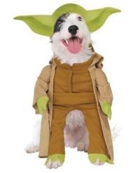Dog Pet Costume Star Wars DARTH VADER LEIA YODA R2D2 Size