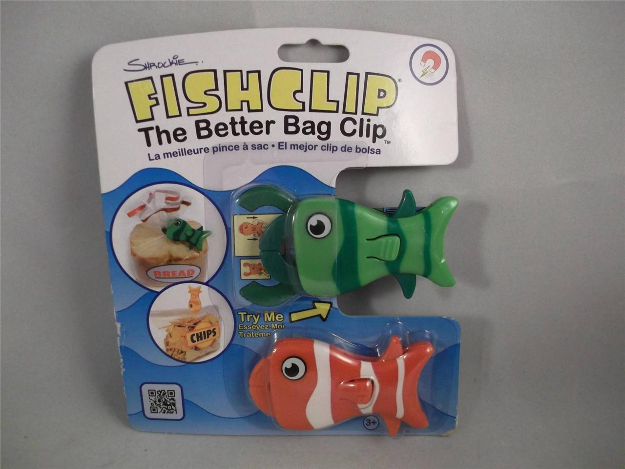 Clip Seal Bags 2 Shrockie Fish Clip The Better Bag Clip Magnetic Bag