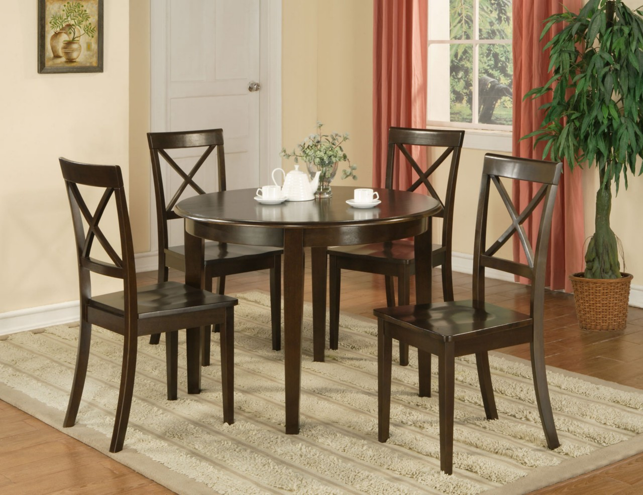 round dining tables for 4 chairs set eva furniture round kitchen table set Lenora Oval Dining Table