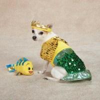 Dog FURRMAID Sea Mermaid Halloween Costume Flounder Pet ...
