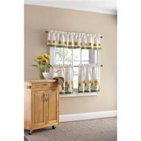 Sunflower Kitchen Curtains Tier Set