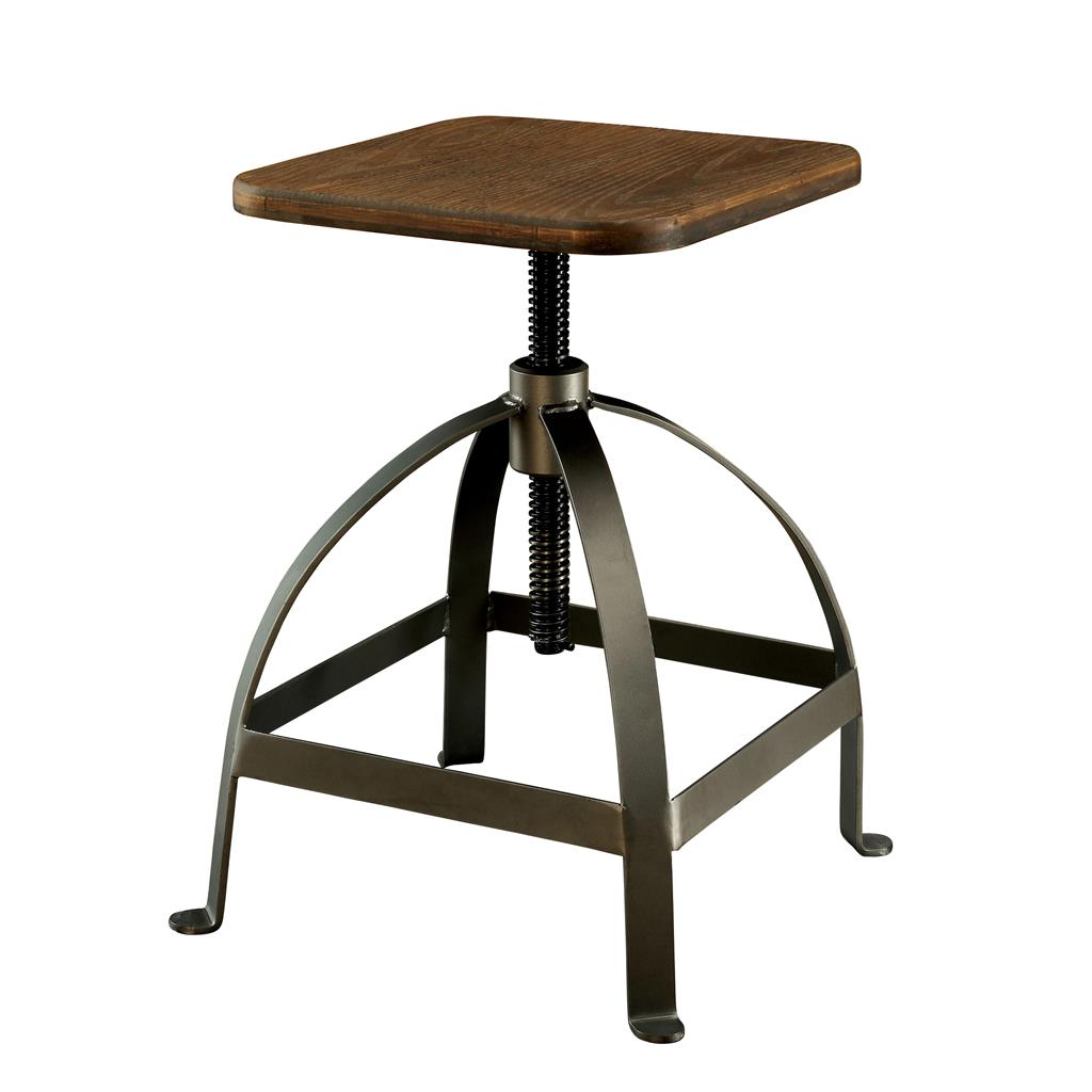 Rustic Modern Counter Stools Modern Rustic Industrial Adjustable Bar Stool Counter