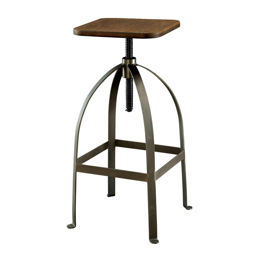 Modern Wood Counter Stool Modern Rustic Industrial Adjustable Bar Stool Counter