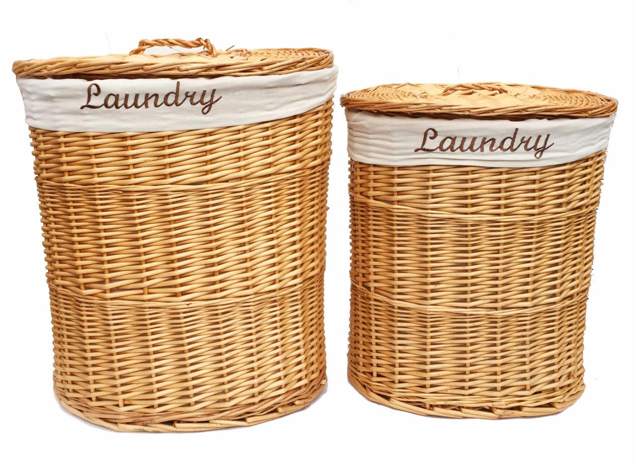 White Laundry Hamper With Lid Brown White Black Oval Wicker Laundry Basket With Lid