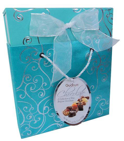 Gudrun Belgian Chocolate Gift Box Bag Set Assorted