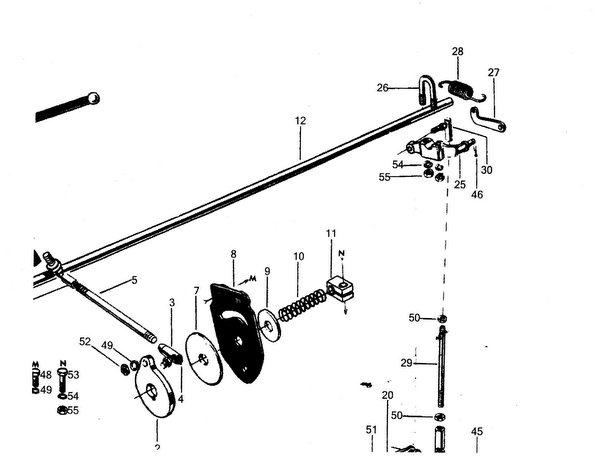 farmall a governor diagram