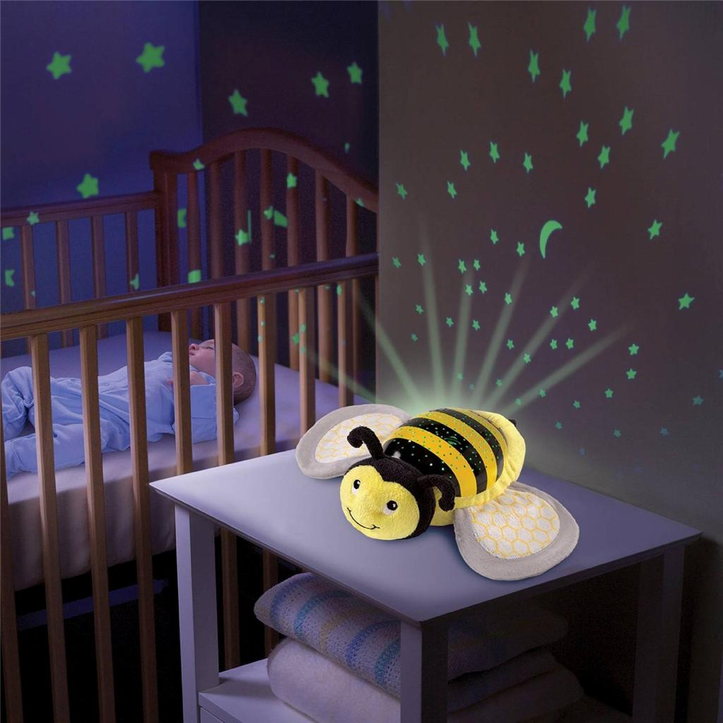 Baby Star Light Projector Baby Musical Cot Mobile Night Light Projector Nursery
