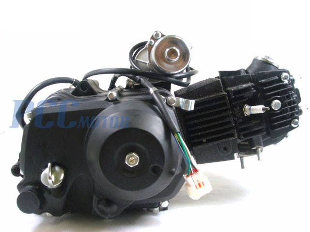 110CC ENGINE MOTOR FULLY AUTOMATIC ELECTRIC START CARB ATV PIT BIKE