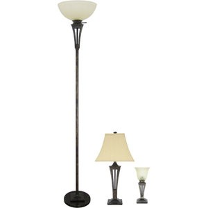 Shopdotbags : Floor, Table and Accent Lamp Set New!