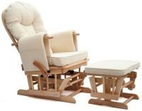 Sereno (natural wood or white) Nursing Glider maternity ...