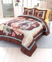 NEW Trendy Owl Friend Bedroom Comforter TWIN or FULL ...