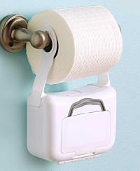 New Toilet Paper Holder Humorous Disposable Wipes Hanger ...