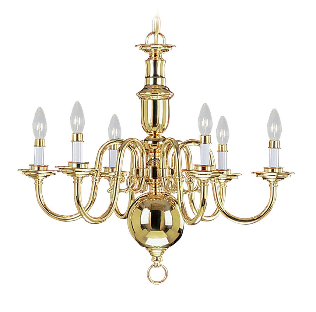 Beacon Pendant Lights 6 Light Livex Beacon Hill Polished Brass Chandelier